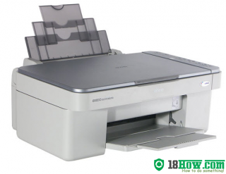 How to reset flashing lights for Epson RX530 printer