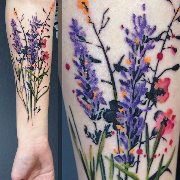 as_flores_silvestres_do_antebraço_peça