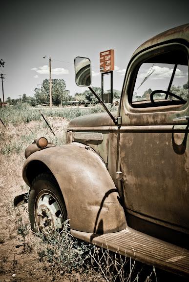 Great American Road Trip, cz.13.2 -- z Page, AZ w stronę Doliny Monumentów..