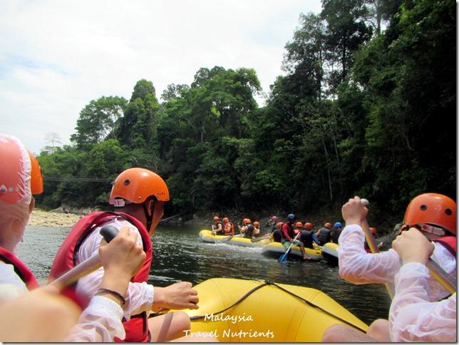 馬來西亞沙巴 九如河泛舟 溜索 (11)