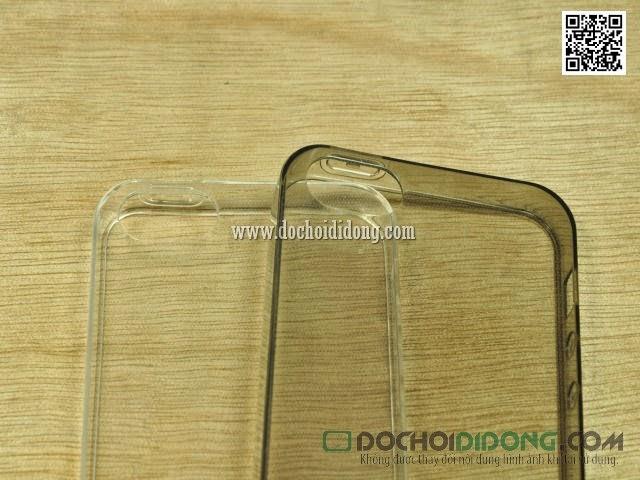 Ốp lưng Iphone 5 - 5S Yume dẻo trong