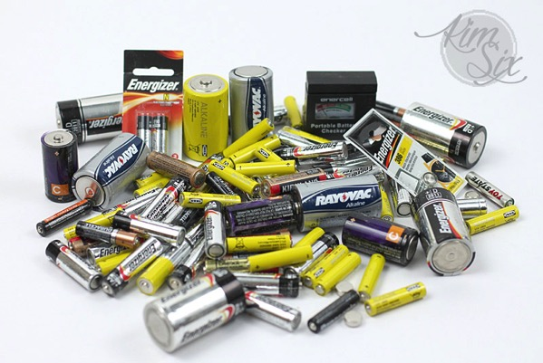 Messy batteries