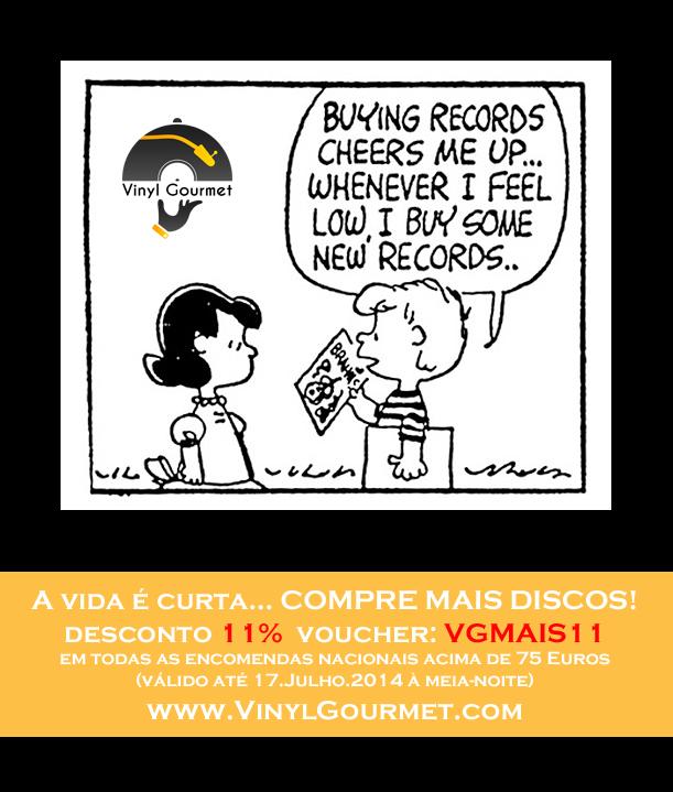 Vinyl Gourmet - 11% Desconto até dia 17/Julho VIDA11-PT