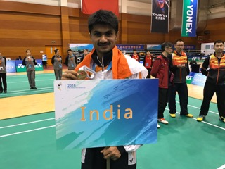 Kannadiga IAS officer shine in Para Olympics- ಪ್ಯಾರಾ ಒಲಿಂಪಿಕ್ಸ್: ಬೆಳ್ಳಿ ಪದಕಕ್ಕೆ ಮುತ್ತಿಟ್ಟ ಕನ್ನಡಿಗ ಐಎಎಸ್ ಅಧಿಕಾರಿ ಸುಹಾಸ್