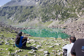 Jahaz Dand Lake deceives trekkers as if they have reached Katora Lake, Upper Dir.