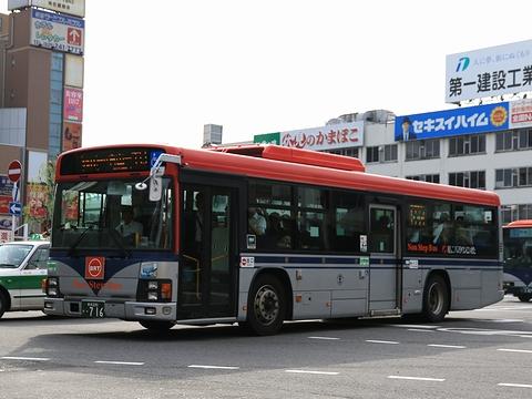 新潟交通 萬代橋線BRT ・716