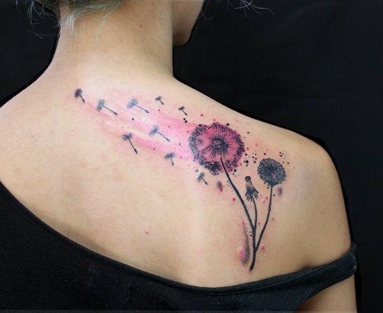 flor_dente_de_leo_tatuagem_com_uma_pitada_de_cor