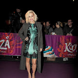WWW.ENTSIMAGES.COM -  Kimberly Wyatt  arriving  at  Cirque Du Soleil: Kooza VIP Royal Albert Hall London January 8th 2013                                                       Photo Mobis Photos/OIC 0203 174 1069