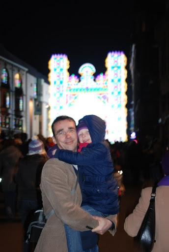 We zijn op het lichtjesfestival in Gent!