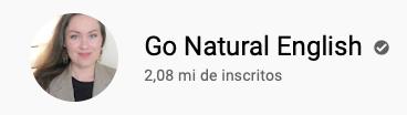 101 canais do YouTube para aprender inglês de graça Go Natural English