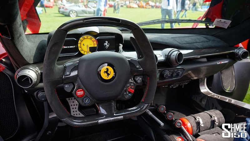 Amazing Interior of Ferrari LaFerrari