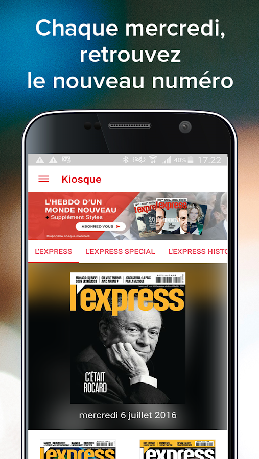 L'Express - Magazine- screenshot