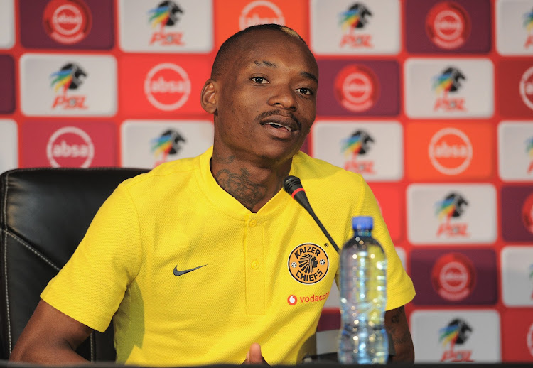Kaizer Chiefs star forward Khama Billiat is doubtful to play in the last 16 round of the Telkom Knockout cup against Black Leopards at FNB Stadium on Sunday, coach Govanni Solinas said on Thursday October 4, 2018.