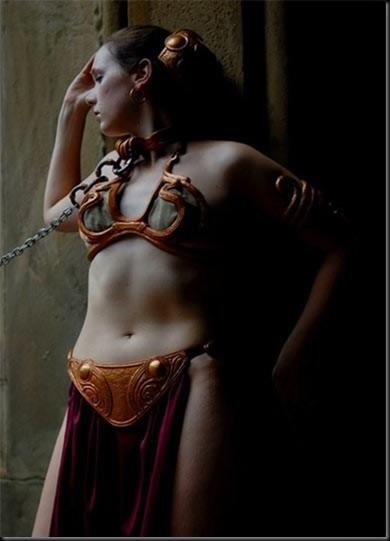 Princess Leia - Golden Bikini Cosplay_865825-0097