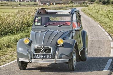 Citroën 1963 2 CV AZAM gris typhon
