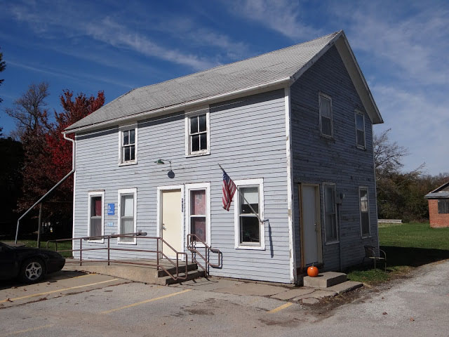 Homestead, Iowa post office, 2012