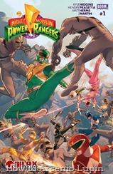 Mighty Morphin Power Rangers 001-000