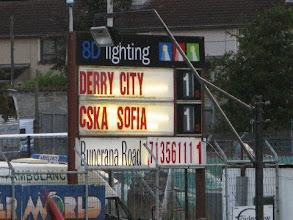 Photo: 06/08/09 v CSKA Sofia (UEFA Europa Lge 3Q2L) 1-1 (1-2agg) - contributed by Leon Gladwell