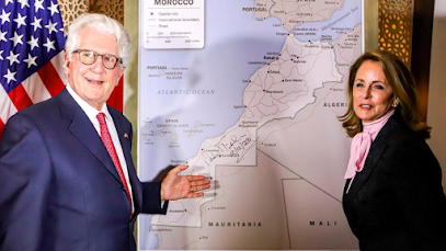 US unveils new map of Morocco that includes Sahara region