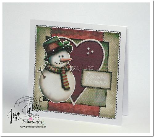 Festive Snowman (1)