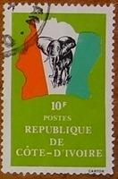 timbre Côte d'Ivoire 007