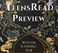 TeensRead Preview Winter & Spring 2018 banner