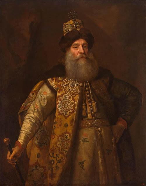 Godfrey Kneller - Portrait of Pyotr Potyomkin
