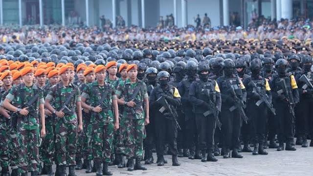 Jokowi Sebut Pasukan TNI dan Polri Dikerahkan Jaga PSBB Covid-19