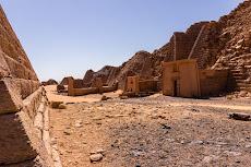 The pyramids of Meroe...
