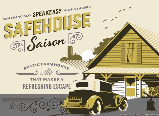 "Speakeasy Ales & Lagers Unveils ""Safehouse Saison"" in Perfect Crimes Series"