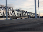 The old Bay Bridge solwly getting removed