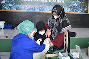 Vaksinasi Kodim Sragen Terus Berlanjut