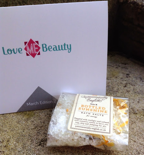 Bath Salts from Love Me Beauty Box