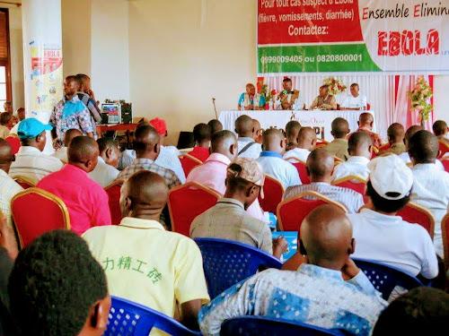 Beni : l'UNPC appelle les médias à s'approprier la lutte contre Ebola