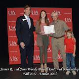 Fall 2017 Foundation Scholarship Ceremony - James%2BR.%2Band%2BJami%2BWoody%2BPowell.jpg
