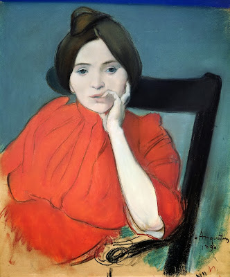 Louis Anquetin - Portrait of a Woman