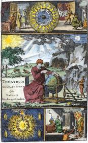 Frontispiece From Theatrum Sympateticum 1727, Alchemical And Hermetic Emblems 2