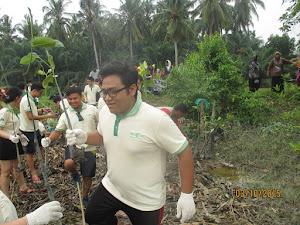 Nets Print Mangrove Tree Planting at Sabak Bernam (CrE)