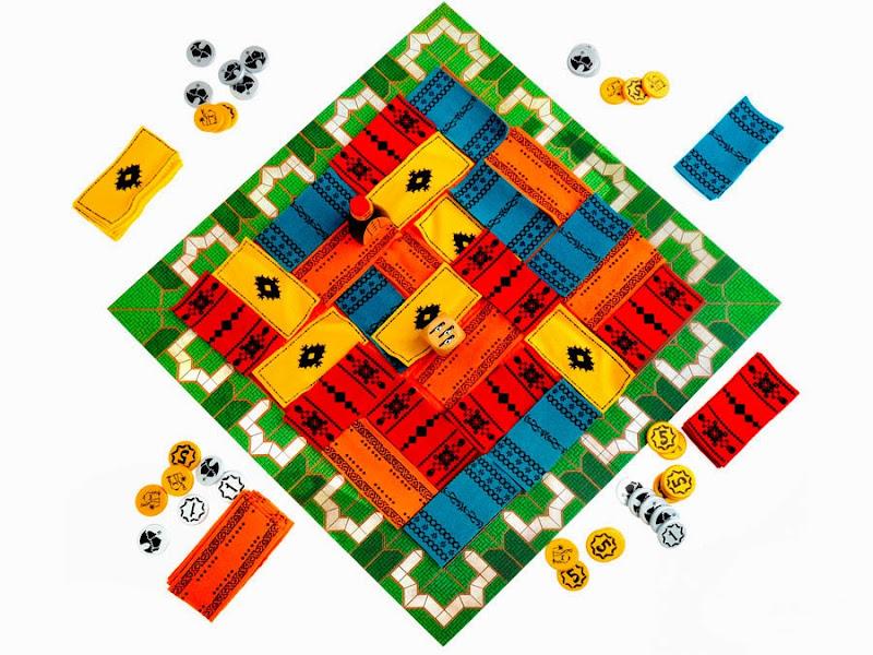 Marrakech boardgame, настольная игра Марракеш