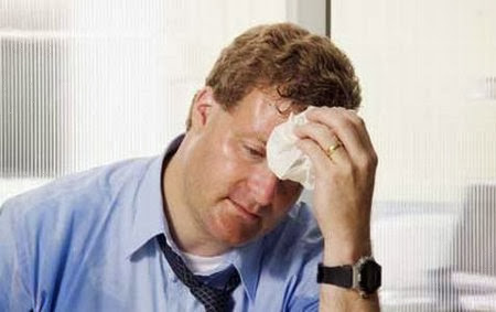 Los trastornos de la sudoración