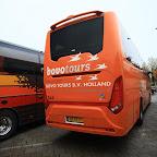 Achterkant van de Scania Touring HD van Bovo Tours bus 344 ( foto van Bertie Willemsen )