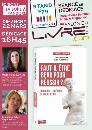 D dicaces salon du livre 22 mars 2015 paris dr sylvie for Porte de versailles salon esthetique