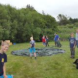 Lejren bygges op