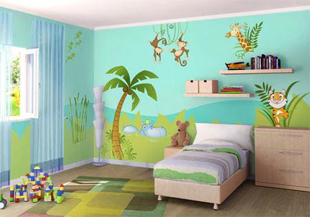 Ideas Para Pintar Una Habitacion Great Gallery Of Decoracion Hogar - Pintar-la-habitacion-de-un-bebe