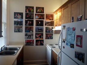 Celebrity Wall ! (and also my kitchen)