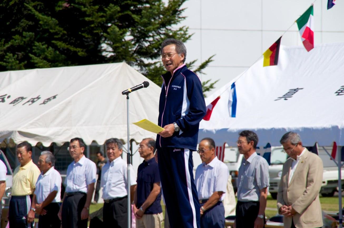 北竜町体育協会・澤田正人 会長