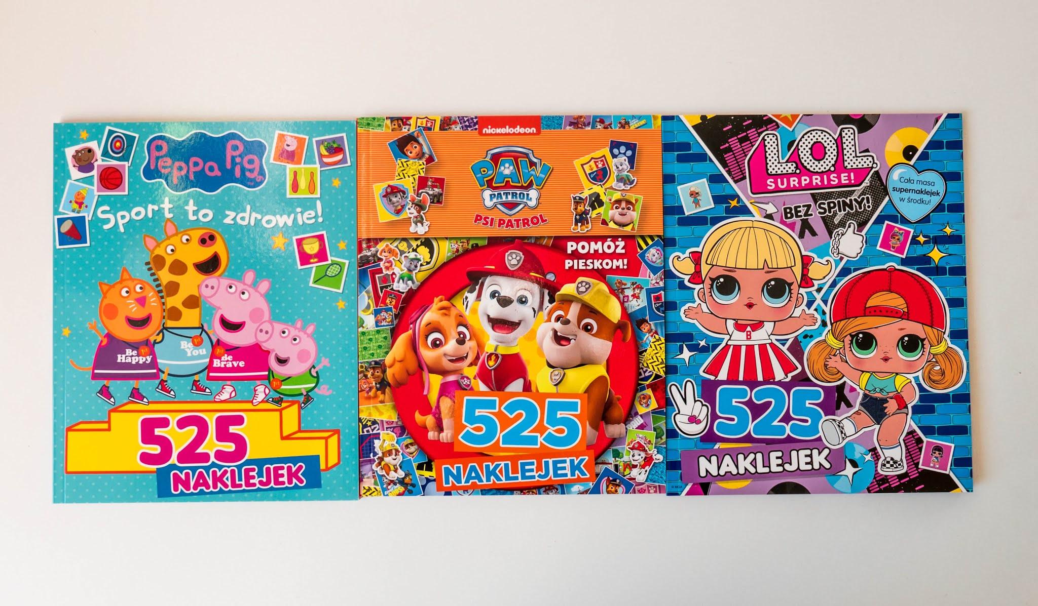 kolorowanki z naklejkami dla dzieci LOL Surprise