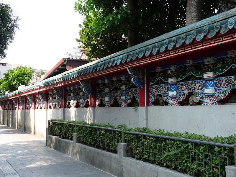 Long shan temple et alentours immédiats