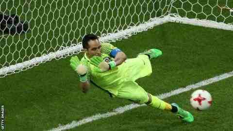 Bravo the hero in shoot-out victory for Chile against Portugal