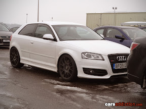 Nice looking Audi S3 in the car park